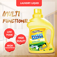 laundry liquid lemon